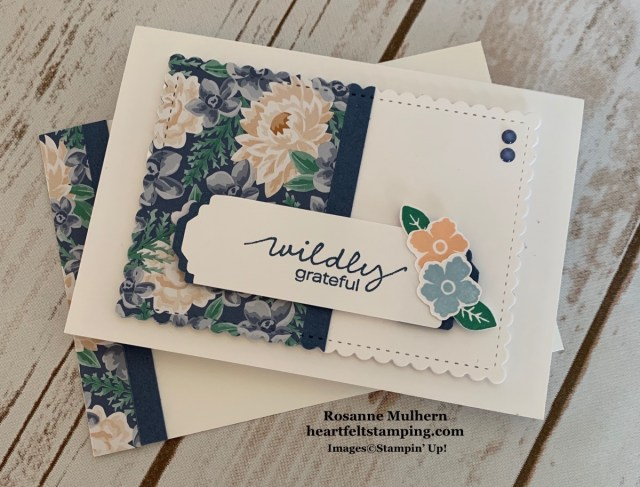 Stampin Up Lovely You Note Cards Gift Set -Rosanne Mulhern stampinup