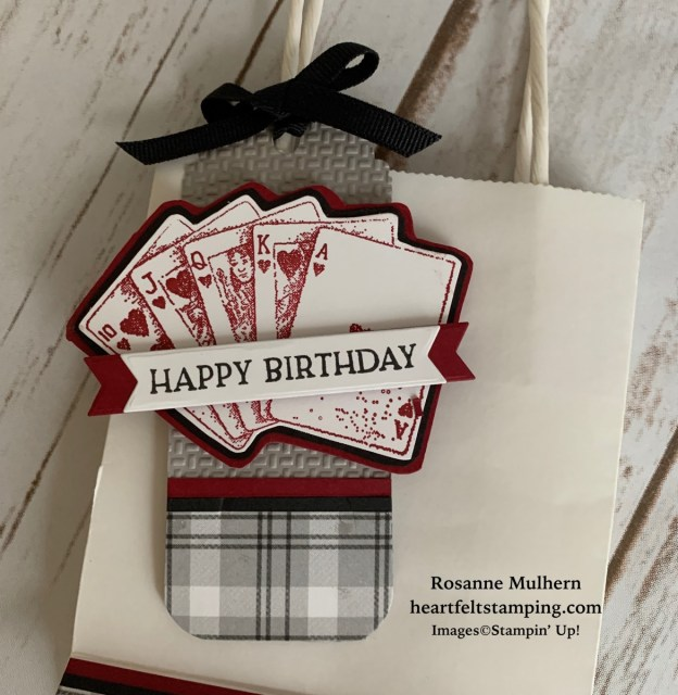 Stampin Up Game On Masculine Birthday Card Ideas - Rosanne Mulhern stampinup