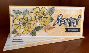 Stampin Up To a Wild Rose Mother's Day Card - Rosanne Mulhern stampinup