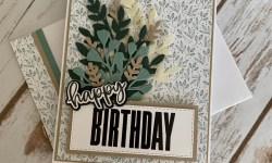 Stampin Up Biggest Wish Birthday Card Idea -Rosanne Mulhern stampinup