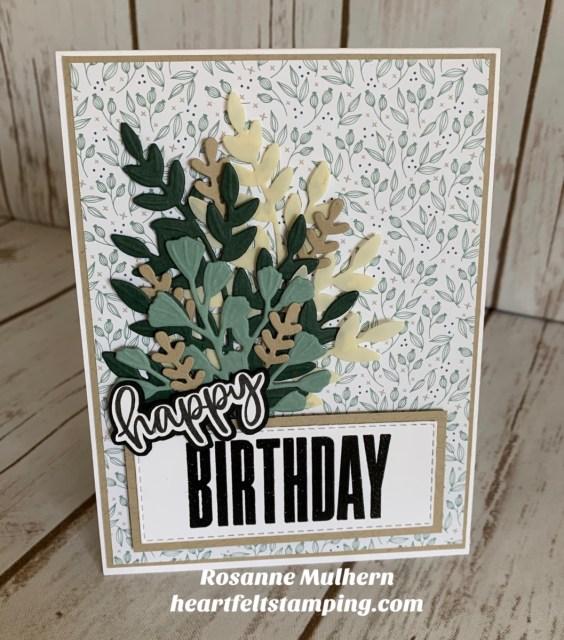 Stampin Up Biggest Wish Birthday Card Ideas - Rosanne Mulhern stampinup