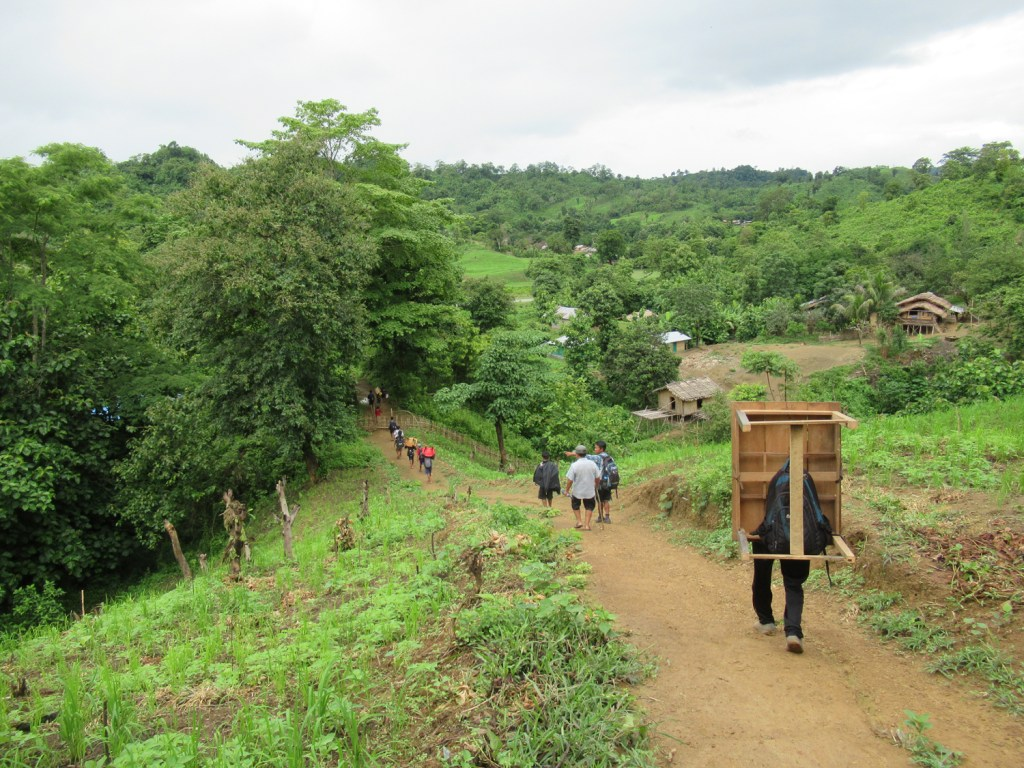 S and others going to remote village for new church