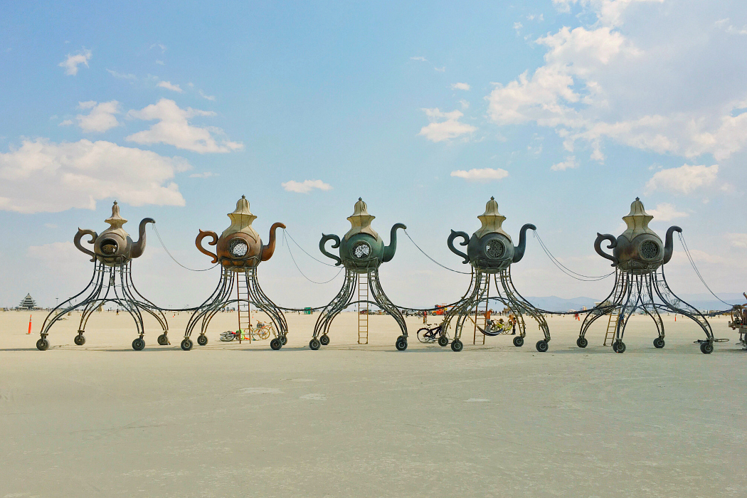 Reflections From the Dust - Lessons Learned at Burning Man - Heart Hackers Club -  - 2016 Burning Man