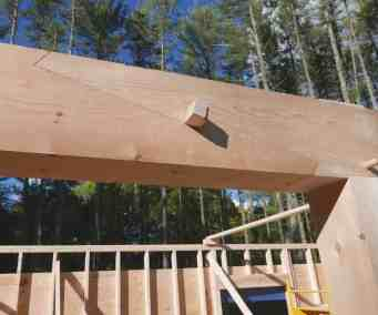 assembled scarf joint