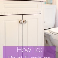 DIY Decor: How To Paint Laminate Furniture Without Sanding