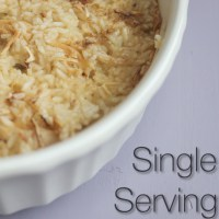 Single Serving Chicken and Rice
