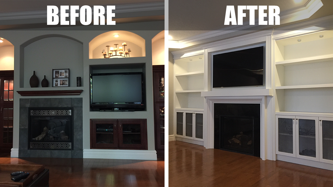 Fireplace Makeovers Refacing Hearth Manor Fireplaces Gta