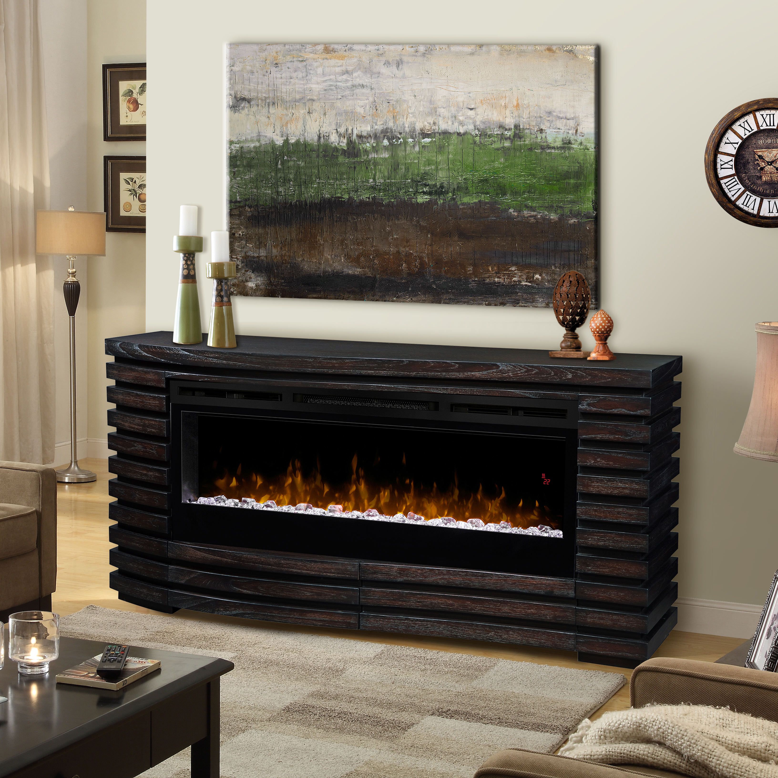 walmart with mantle electric heater get best allstateloghomes fireplace within oak