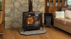 vermont castings wood burning stove