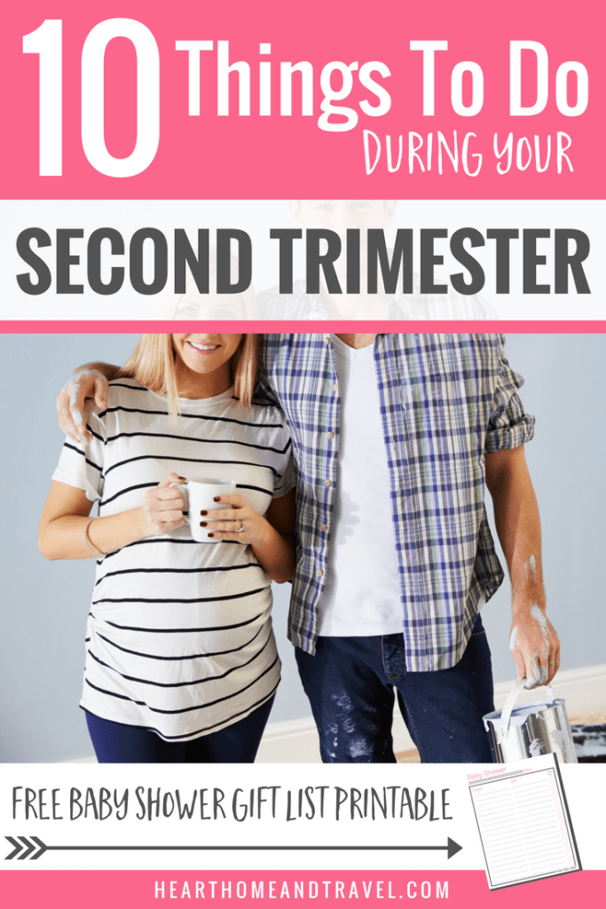 10 Things To Do During Your Second Trimester Pregnancy