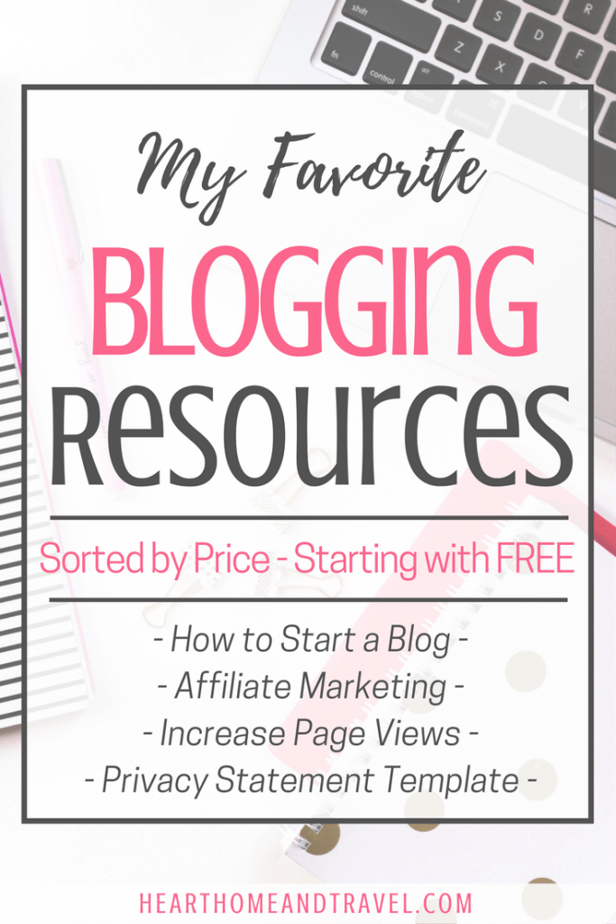 Favorite Blogging Resources by Price Best