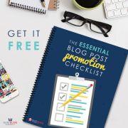 Essential Blog Promotion Checklist Elite Blog Academy