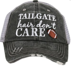 Tailgate hair don't care trucker hat