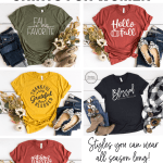 Five Cute Fall Shirts for Women