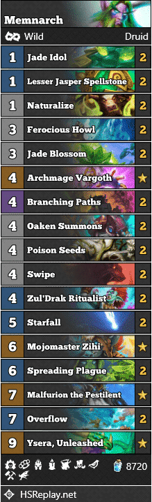 [WILD META GUIDE] Jade Druid - Memnarch