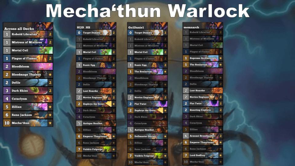 Mecha'thun Warlock