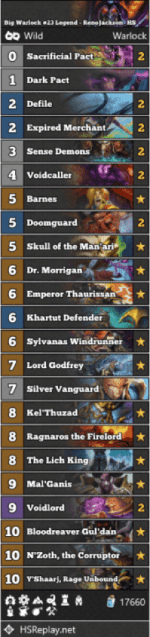 Big Warlock #23 Legend - RenoJackson_HS