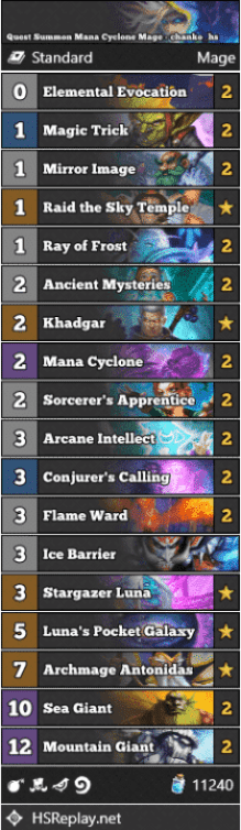 Quest Summon Mana Cyclone Mage - chanko_hs
