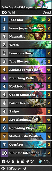 Jade Druid #139 Legend - rom469