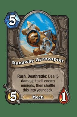 Runaway Gyrocopter