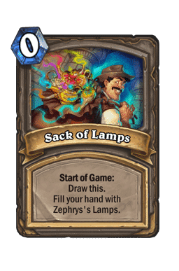 Sack of Lamps