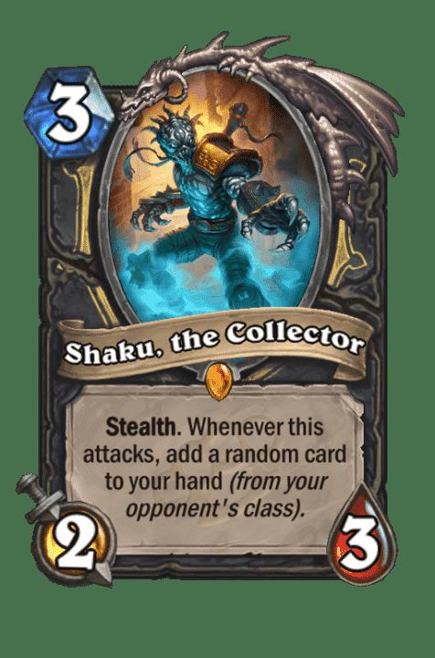 Shaku, the Collector
