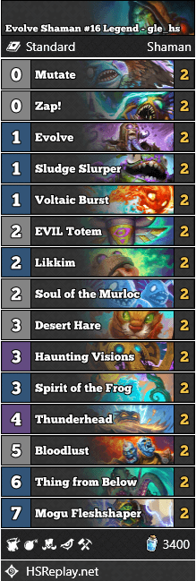 Evolve Shaman #16 Legend - gle_hs