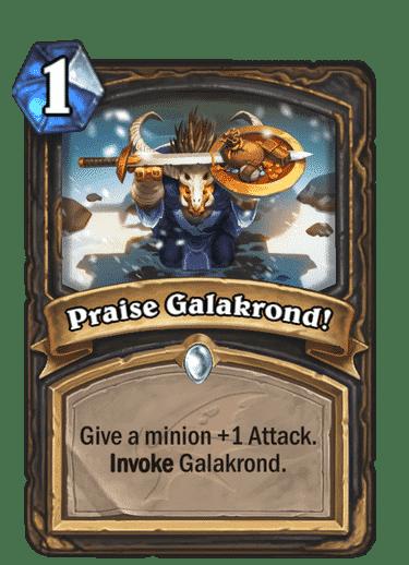 Praise Galakrond!