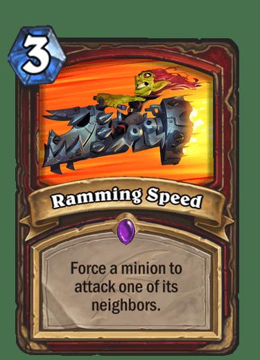 HQ Ramming Speed