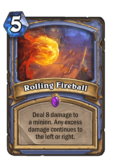 HQ Rolling Fireball
