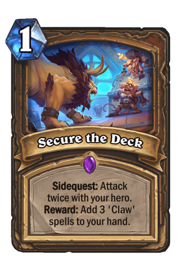 HQ Secure the Deck