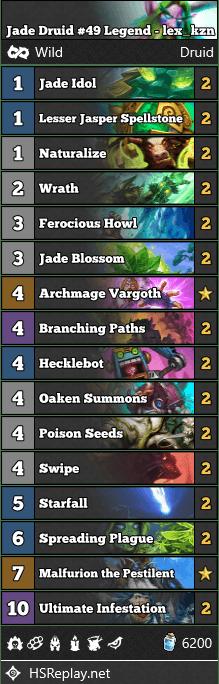 Jade Druid #49 Legend - lex_kzn