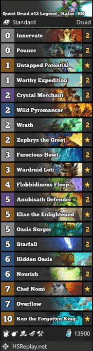 Quest Druid #12 Legend - Kalas_HS