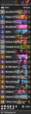 Darkest Hour Warlock #1 Legend - masochismDgs