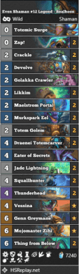 Even Shaman #12 Legend - Sealhoon