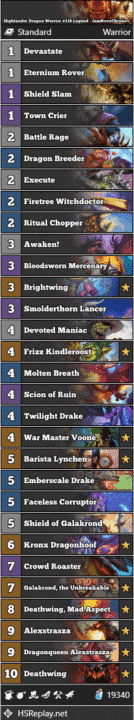 Highlander Dragon Warrior #138 Legend - IamNovaChrono