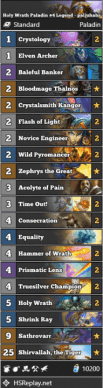 Holy Wrath Paladin #4 Legend - paljuhahs