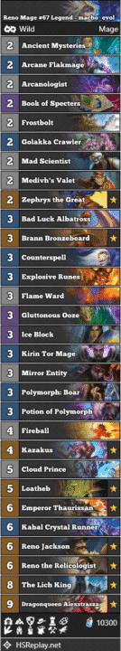 Reno Mage #67 Legend - macho_evol