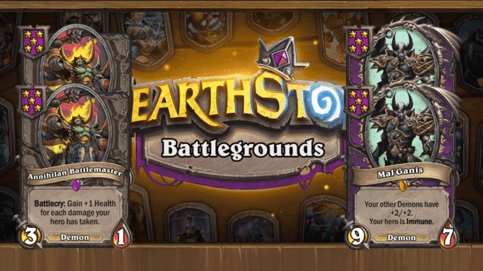 Hearthstone Battlegrounds - Demons will be nerfed