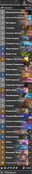 Highlander Hunter #20 Legend - ReongW_hs