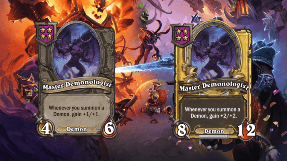 Master Demonologist will be a new Minion for Hearthstone Battlegrounds
