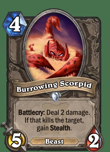 Burrowing Scorpid HQ