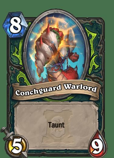 Conchguard Warlord HQ