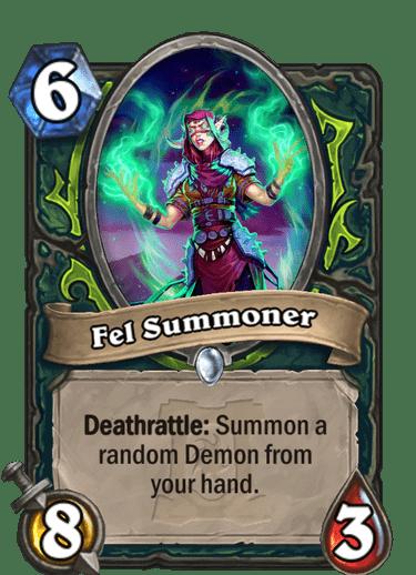 Fel Summoner HQ