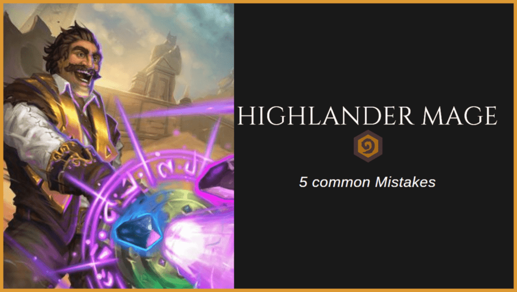 Highlander Mage - 5 common Mistakes (Frontpage)