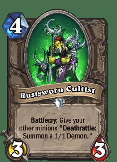 Rustsworn Cultist HQ