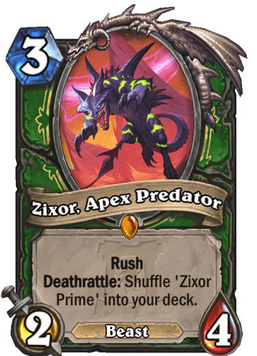 Zixor, Apex Predator HQ