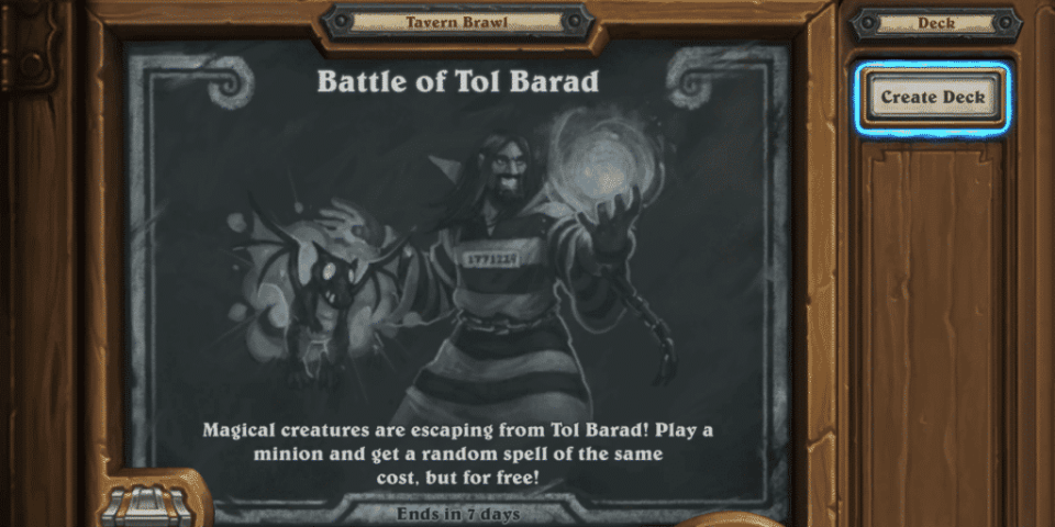Battle of Tol Barad Twitter