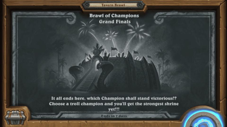 Tavern Brawl - Brawl of Champions - Grand Finals (Frontpage)