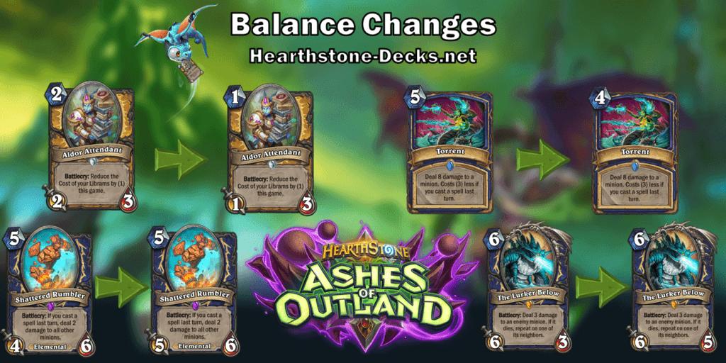 Hearthstone Balance Changes - 1